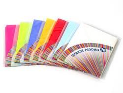 מעטפות צבעוניות 10 יח' 17.5*12.5