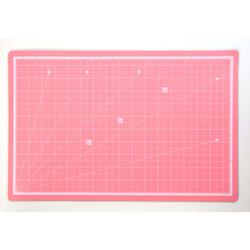 משטח חיתוך דו צדדי ורוד 45/30 ס'מ