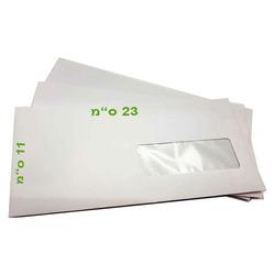 מעטפות חלון 110/230 מאורך