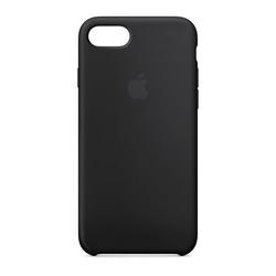 מגן כיסוי סיליקון iPhone 7 שחור