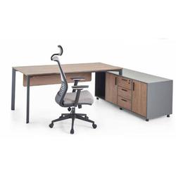 שולחן כתיבה חום דגם דמו
