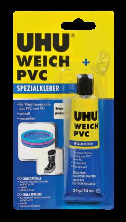 דבק PVC רך UHU גרם 30 בריכות וכו'