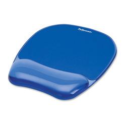 משטח לעכבר גל אורגונומי Fellowes DER9114120 שקוף כחול