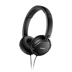 אוזניות חוטיות Philips SHL5000 פיליפס שחור