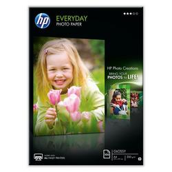 נייר להזרקה HP גלוסי 200 ג' A4 ֹ100 דף