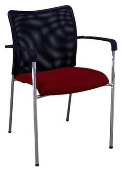 כסא משרדי אורח מיאמי גב רשת למשרד