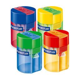 מחדד כוס שטדלר גרמניה פלסטיק 2 חורים