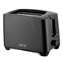 טוסטר מצנם ל- 2 יח' MX-T2001-T-BK MATRIX הוואי שחור