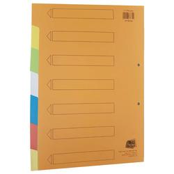 חוצצים קרטון הדר 1-7 צבעוני 240 גרם