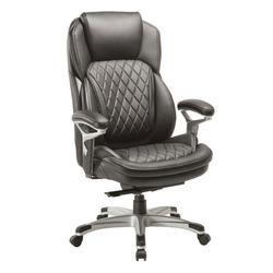 כסא מנהלים דיפלומט ידיות מתכווננות שחור