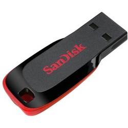 דיסק און קי Cruzer Blade 64GB SanDisk