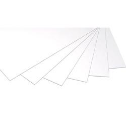 לוח מוקצף 5 מ'מ 70/100 לבן
