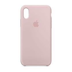 מגן כיסוי סיליקון iPhone X ורוד