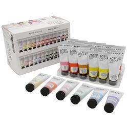 סט צבעי אקריליק ארט רנג'רס שפופרת 24 גונים 22 מ'ל