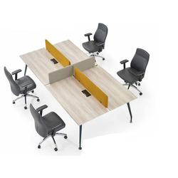 שולחן כתיבה דגם בנצ' לאטה לבן עץ