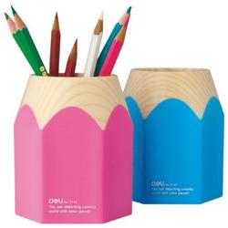 כוס לעטים בעיצוב עפרון deli 9145