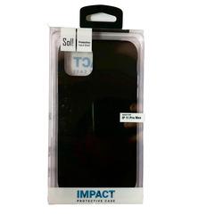 כיסוי לאייפון 11 PRO MAX שחור SOL IMPACT
