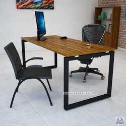 שולחן כתיבה דגם Diamond רגל שחורה