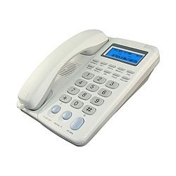 טלפון שולחני  SAKAL CID348 לבן
