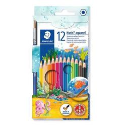 עפרון צבעוני שטדלר אקוורל סט 12 צבעים