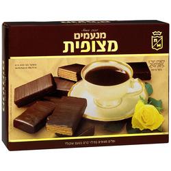 וופל מנעמים מצופית שוקולד 400 גר'