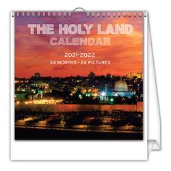 לוח שנה ארץ הקודש  16/16 ס'מ 24 חודש