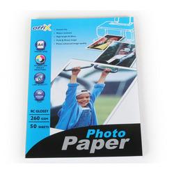 נייר להזרקה OFFIX פ.גלוסי 260 ג' A4/50