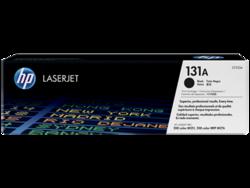 טונר לייזר HP CF210A שחור 1400 דף (131A)