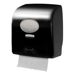 מתקן למגבת ידיים ממותגת בגליל Aquarius Slimroll שחור