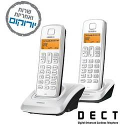 טלפון אלחוטי 1360-2BB DECT UNIDEN
