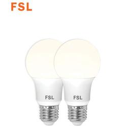 נורת לד A6013.5W לבן אור קר E27 זוג במארז FSL