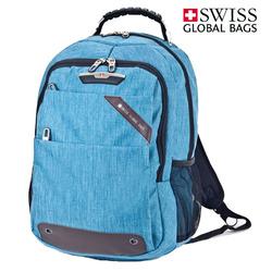 תיק גב סטטיק כחול SWISS
