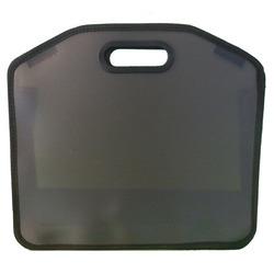 תיק ציור פלסטי שחור 1/8 גליון