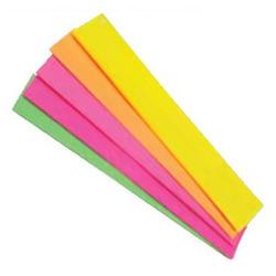 נייר קרפ זוהר מעורב צבעים 5 יח' 50/150