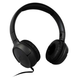 אוזניות חוטיות JBL TUNE T500 שחור