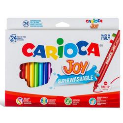 סט טוש לילדים 24 יח' CARIOCA JOY