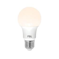 נורת לד A60 10W לבן אור חם E27  FSL