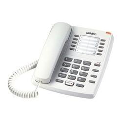 טלפון שולחני AS-7201 Uniden לבן