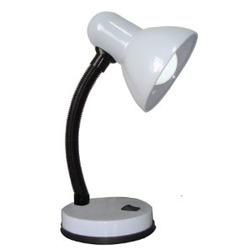 מנורת שולחן OMEGA E-27 לבן
