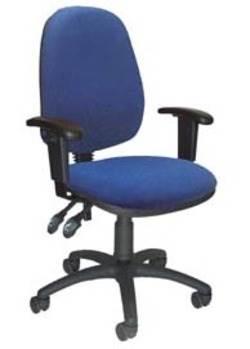כסא עובד ריאלטו C2  ידיות מתכוננות למשרד