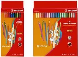 סט צבעי עפרון צבעוני