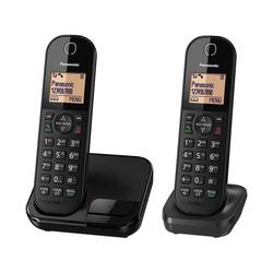 טלפון אלחוטי + שלוחה פנסוניק PANASONIC