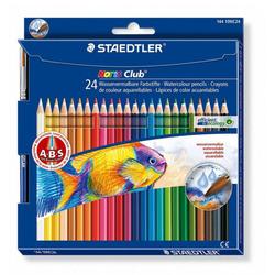 עפרון צבעוני שטדלר אקוורל סט 24 צבעים