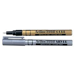 טוש ארטלין זהב/כסף 999 עט דק