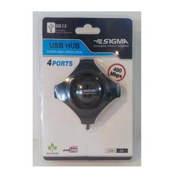 מפצל 4 יציאות USB 2.0 SIGMA