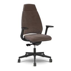כסא מנהל לייף שחור מנגנון סינכרוני דסל