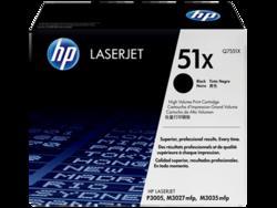 טונר לייזר HP Q7551X דף 13000