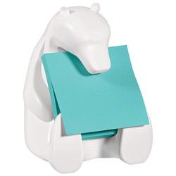 מעמד למדבקות תזכורת דב לבן POSTIT Bear-330