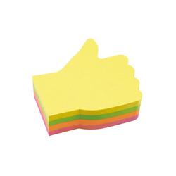 מדבקות תזכורת צבעוני יד INFO