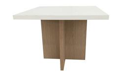 שולחן המתנה מרובע צלב עץ